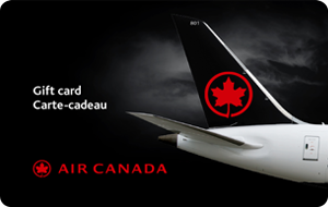 Air Canada Gift Cards