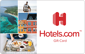 Hotels.com Gift Cards