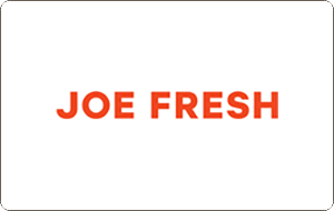 Joe Fresh Gift Cards