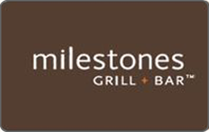 Milestones Grill & Bar Gift Card