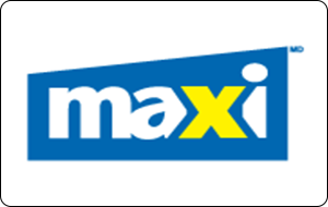 Maxi Gift Cards