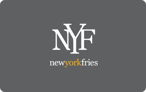 New York Fries Gift Card