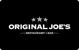 Original Joe's Gift Card