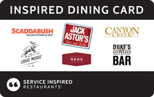 >Service Inspired Restaurants