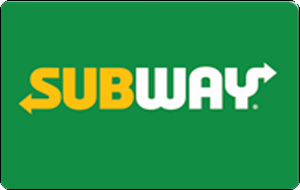 Subway Gift Card