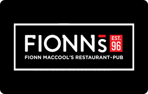 Fionn MacCool's Gift Card
