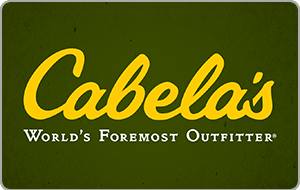 Cabela's® Gift Cards