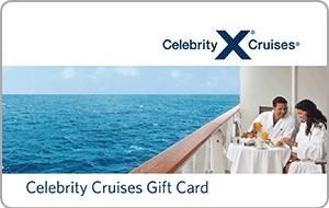 Celebrity Cruises Gift Cards