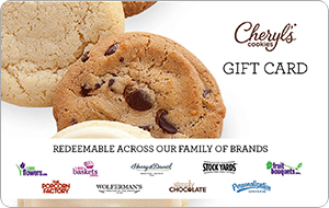 Cheryl's Cookies Gift Cards