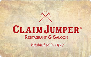 Claim Jumper Gift Cards