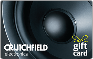 Crutchfield® Gift Card