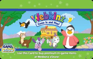 Ganz Webkinz Gift Cards