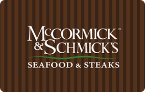 McCormick & Schmick's Gift Cards