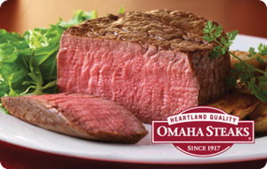 Omaha Steaks® Gift Cards