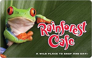 Rainforest Café Gift Cards