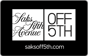 Saks Fifth Avenue OFF 5TH Gift Cards