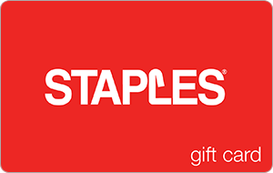 Staples Gift Cards