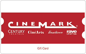 Cinemark Gift Card