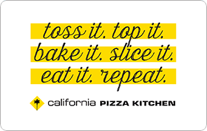 California Pizza Kitchen Gift Cards