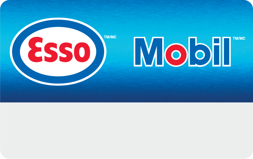 Esso™ and Mobil™ Digital Gift Cards