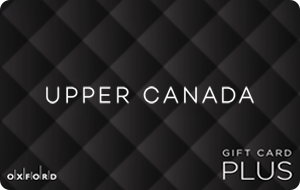 Upper Canada, New Market (Oxford Plus) Gift Cards