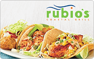 Rubio's Coastal Grill Gift Cards