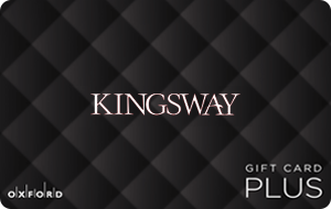 Kingsway Mall, Edmonton (Oxford Plus) Gift Cards