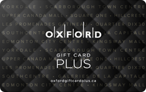 Oxford Gift Card Plus Gift Cards