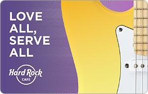 Hard Rock Cafe Gift Cards