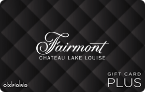 Fairmont Chateau Lake Louise (Oxford Plus) Gift Cards