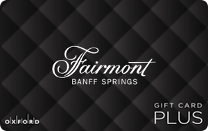 Fairmont Banff Springs (Oxford Plus)  Gift Cards