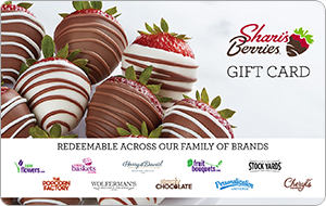 Shari's Berries Gift Card