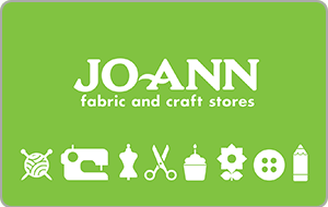 Jo-Ann Fabric and Craft Stores® Gift Card